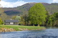 river moriston salmon fishing, inverness-shire, highlands, glenmoriston