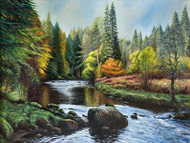 river alness painting prints