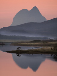 suilven and loch borrolan
