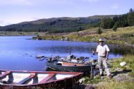 troutquest, brown trout fishing by boat, loch bad a' bhathaich, ross-shire